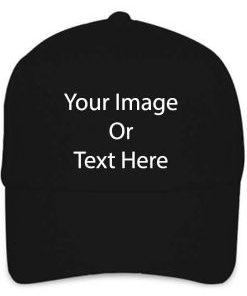 Customize Black Cap