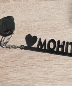 acrylic keychain name
