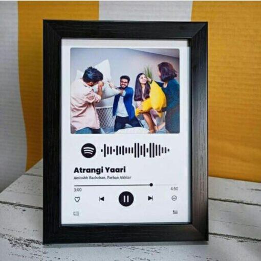 spotify photo frame